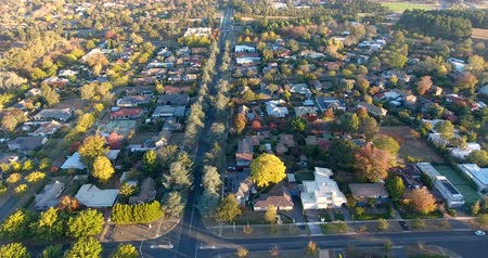 frondoso : Aerial view of a typical Australian suburb Vídeos