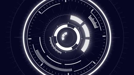 высокотехнологичный : Futuristic Hud Target. Animated hud circle. Good as background, intro, and screensaver