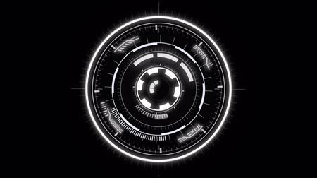 радар : Futuristic Hud Target. Animated hud circle. Good as background, intro, and screensaver
