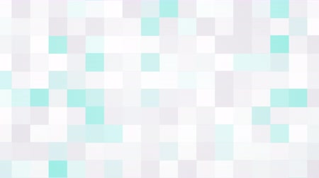 наложение : Computer generated animated white and blue blinking squares background for use as a desktop screen saver, text overlay, or subtle design element background for corporate presentations.
