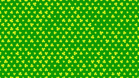 patrik : St. Patricks animated clovers against a yellow background. For use as a general backdrop, design element or as an overlay for placement of text or other copy. Dostupné videozáznamy