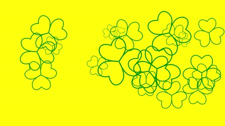 patrik : St. Patricks animated clovers against a white background. For use as a general backdrop, design element or as an overlay for placement of text or other copy. Dostupné videozáznamy