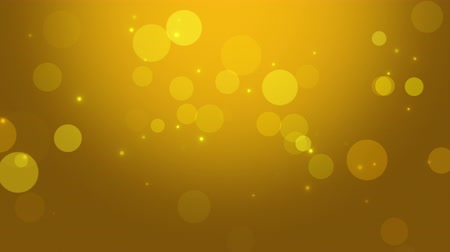 боке : Gold hue animated streaks for use as a background or design element where placement of copy is needed.