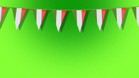 patrik : St. Patricks animated flags against a green background. For use as a general backdrop, design element or as an overlay for placement of text or other copy.