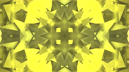 broken glass : Three-dimensional random reflective kaleidoscope block shapes toned in a subtle yellow hue. Good for a background design element, computer wallpaper or screen saver.