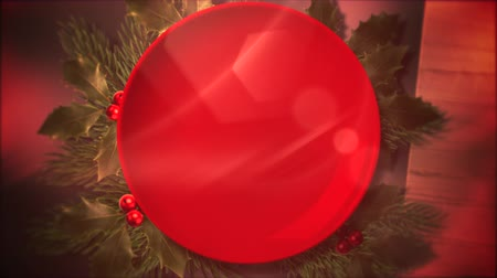 An animated Christmas background subtly zooming provides a festive element to holiday messaging and even as a design element where theres plenty of space for copy in advertising seasonal marketing.