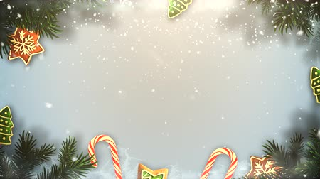 шишка : Festive Snowy Christmas background provides a seasonal element to holiday messaging and even as a design element where theres plenty of space for copy in advertising seasonal marketing.