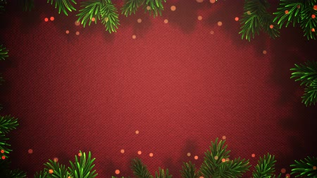 Animated Christmas frame made of holly zooms slowly out while red festive dots form around the holly.  Great for use as is to celebrate the holidays or clip can be used with placement of copy for marketing and messaging.