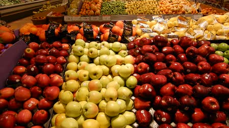 gastronomia : 4K Fresh Organic Produce Fruits Apples