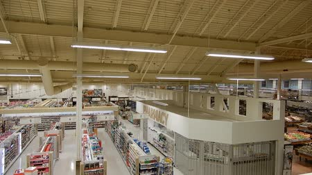 aisles : 4K Grocery Store Prescription Medicine and Produce Section Aisles