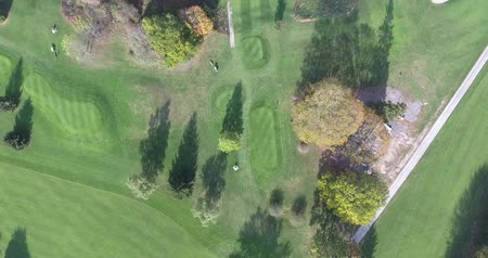 ловушка : Golf Course Aerial Green With Trees