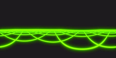 enviroment : Tron Grid Green Neon 4K Virtual Reality Animated Loopable