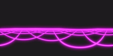 electro : Tron Grid Purple Neon 4K Virtual Reality Animated Loopable