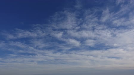 altostratus : Cloudy Covered Sky Wide Angle Shot Timelapse 002 Stock Footage