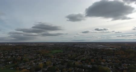 пригородный : Silver Cloud Sky Horizon Aerial Pan