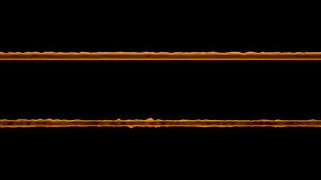 naga : Two burning rods on a black background. Looped video