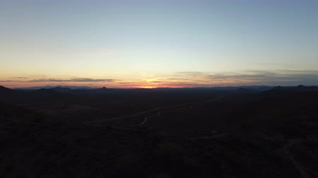 Arizona Sunset from Mountaintop