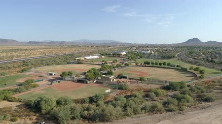 Aerial Arizona High School Baseball Fields