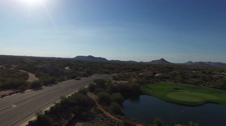 Aerial Scottsdale Arizona Golf Course 3