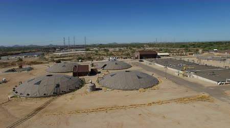 Aerial Scottsdale Water Treatment Plant