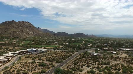 Aerial Scottsdale Arizona Golf Course 5