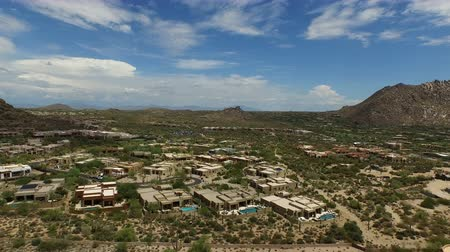 Aerial Pinnacle Peak Landscape and Luxury Homes 2