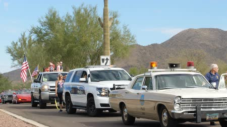 Phoenix, USA – 11052017:  Veterans Day Parade Police Vehicles
