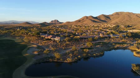 Aerial Tracking of Arizona Golf Course