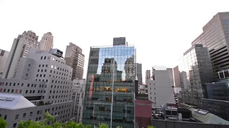 devletler : NYC Skyline and Skyscrapers Panorama