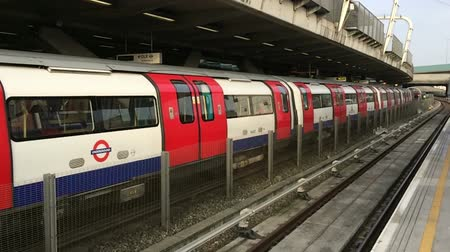 mind the gap : London Underground Stock Footage