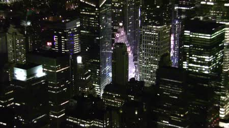 nyc : New York Aerial Night