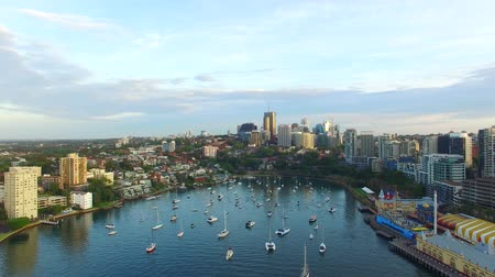 kirribilli : Kirribilli, Sydney. Aerial panoramic view of city skyline