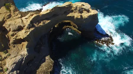 Виктория : The Arch at Great Ocean Road, aerial view of Victoria, Australia