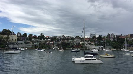 kirribilli : SYDNEY, AUSTRALIA - CIRCA OCTOBER 2015 AND Kirribilli Cloudy