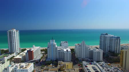 Miami Beach, Aerial panoramic view - United States