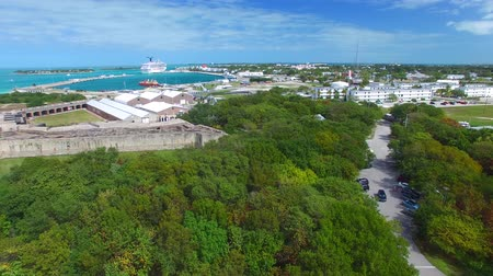 запад : Key West aerial panorama