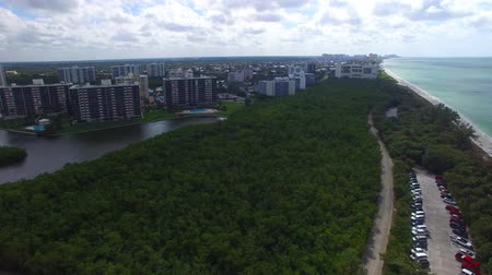 nápoles : Delnor Wiggins park panoramic aerial view in Naples