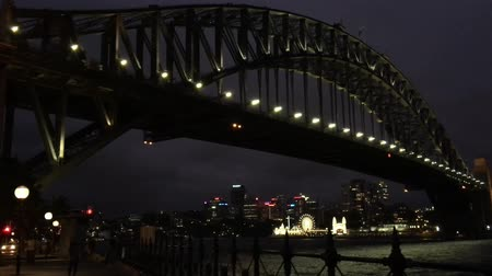 kirribilli : Sydney Harbour Bridge at Night