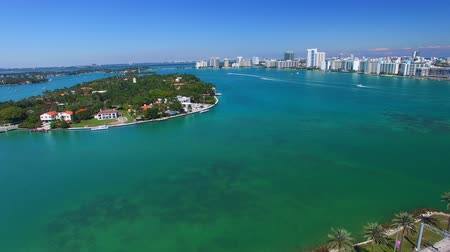 lifestyle : Miami landscape, aerial view