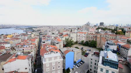 isztambul : Istanbul aerial view. New and old buildings