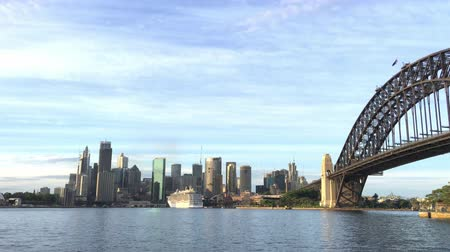 kirribilli : SYDNEY? NOVEMBER 2015: City skyline from Kirribilli. Sydney attracts 10 million people worldwide annually