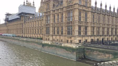 парламент : Westminster Palace from the bridge, London
