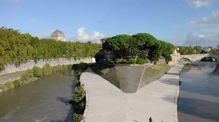 vatikan : Rome, Tiber and buildings
