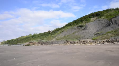 normandie : Coast of Normandy, France Stock Footage