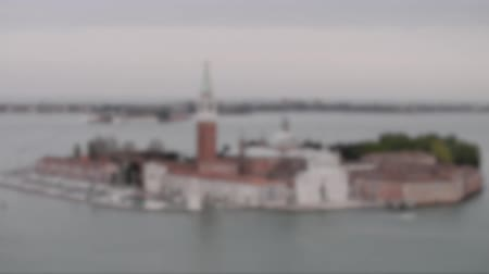 greater : Blurred view of Venice San Giorgio Island