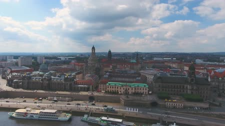 europa : Aerial view of Dresden, Germany