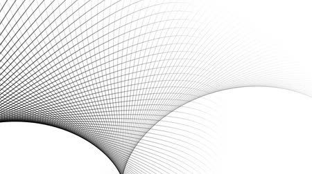Lines abstract background, loop Stok Video