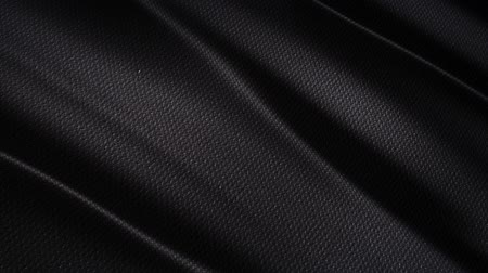 Black wavy fabric motion background cloth