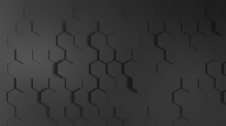 Abstract background Hexagon Geometric Surface Loop