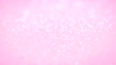sutil : Lopped twinkling glittering sparkling rose light pink animated background with a mid focus range.